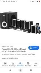Home theater Lenox HT 725, cd, MP3, karaoke, USB, entrada Aux, bivolt
