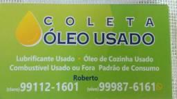 Coleta autorizado de óleos uzados e contaminados