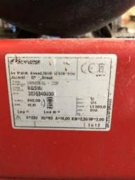 Compressor de ar direto 3hp tanque 200l sobre rodas