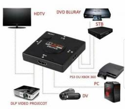 Hub Switch Hdmi 4 Portas - Jq
