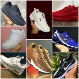 Diversos modelos de sapato