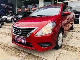 Nissan Versa 1.0 Completo 2018 - Vermelho Malbe - Abaixo da Fipe - 2018