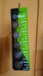 Bateria moeda placa mãe de pc CR2032 cartela c/5