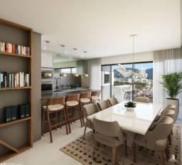 Apartamento alto padrão 3 quartos 2 v garagem 122m² de Joaçaba próximo do parque central