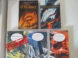 Livros Série Senhor dos Anéis - JRR Tolkien