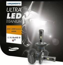 LÂMPADAS ULTRA LED TITANIUM - HB3 CRUZE