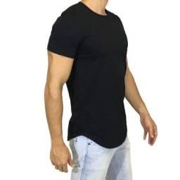 Camisa Masculina Longline Oversized