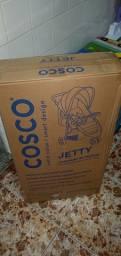 Carrinho de bb Jet Duo Cosco Preto mescla