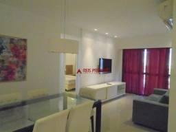 Apartamento com 1 dormitório para alugar, 80 m² por R$ 1.200,00/mês - Barra da Tijuca - Ri