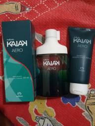Kaiak aero + 2 hidratantes de mesma fragrância