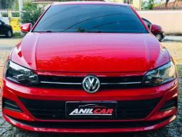 Volkswagen Virtus Msi 1.6 2019 Vermelho Flex