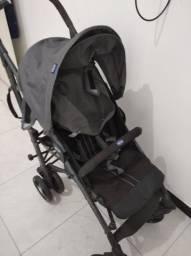 Carro Bebê Desmontável CHIcco Liteway com Guarda Chuva