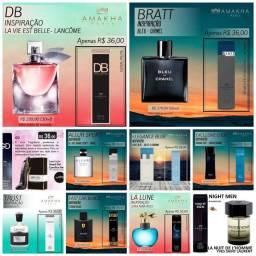 Fragrâncias mais badaladas do momento (perfumes de bolso 15 ml)
