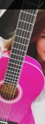 Lindo violão pink