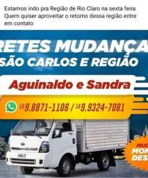 Fretes e mudanças São Carlos e Região
