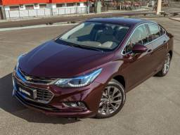 Chevrolet Cruze Sedã LTZ 1.4 Turbo Flex 2017 Vermelho Edible Berries