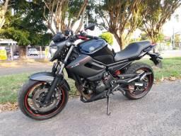 YAMAHA XJ6 600cc, 2015, Preta, muito nova!!!
