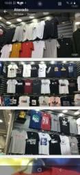 8 Camisas de malha algodão 30.1 por 200,00