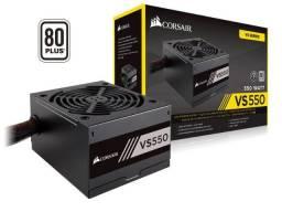 Fonte Corsair 550W 80 Plus White VS550 - CP-9020171