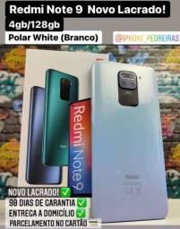 Xiaomi Redmi Note 9 128gb Branco, Novo Lacrado!