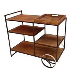 Bar/mesa de apoio em madeira - Oportunidade!!!