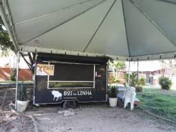 Vendo Food Truque com Tenda com 6x6 m.