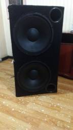 Caixa de som com 2 alto falantes da Selenium