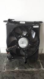 Radiador e ventoinha UP S/ar