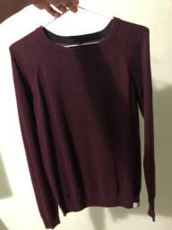 Vende-se suéter vinho original overend