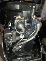 Motor Mecury + Tanque + mangueira + suporte