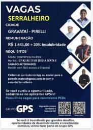 Vaga Serralheiro