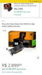Placa de Vídeo GTX 1050TI