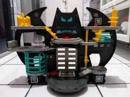 Batcaverna Imaginext + Bonecos + Acessórios