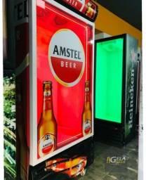 Cervejeira Expositora Wide 570 litros 8 Cxs