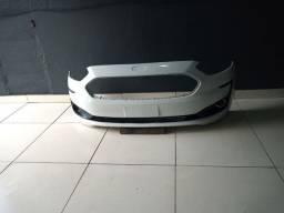 Para-choque dianteiro Ford Ka 2019/2020 com as grades novo Branco