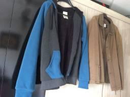Casacos e camisas sociais G
