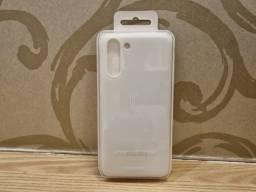Capa S21+ (Plus) Smart Led Cover Branca Lacrada