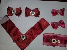 Vende-se lacinhos e bandandas e gravatas