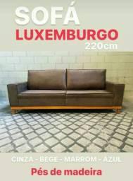Sofá Luxemburgo 1.800 avista ou 2.000 no cartão