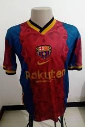 Camisa Nike Barcelona Lançamento 2021 Home Tam M