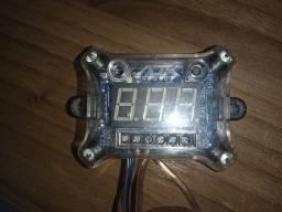 Voltímetro sequenciador AJK Sound 3 vias
