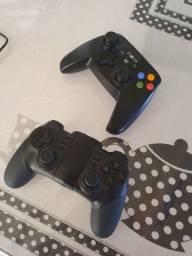 Dois controles Bluetooth (ipega) e (inova), LEIA A DESCRIÇÃO!!!!
