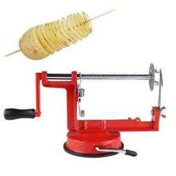 Máquina de batata espiral