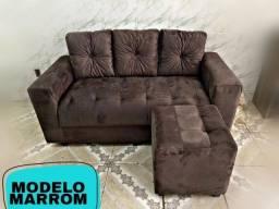 Sofá sofá Novo (Puff gratuito)