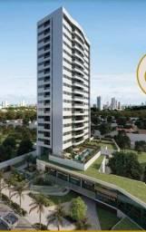 Apartamento para venda possui 69 metros quadrados com 3 quartos nas Graças - Recife - PE