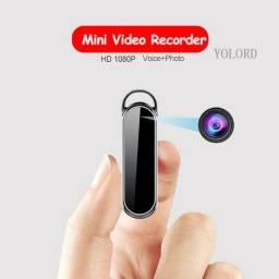Mini Câmera Pingente 1080p 8gb Memória Interna Até 2 Horas