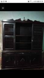 Armário antigo de madeira para restaurar