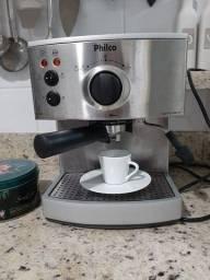 Cafeteira Philco 19 bar- Café expresso delicioso e cremoso! Não precisa de cápsula!