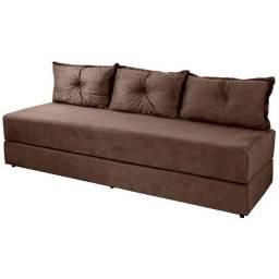Sofa , geladeira e rack 350,00