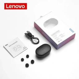 Fone de Ouvido sem Fio Bluetooth Lenovo Original